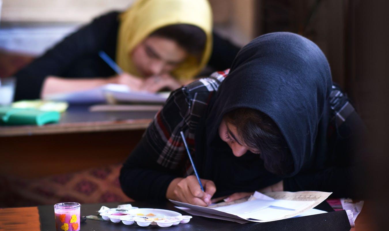 2017 07 18 TMI Calligraphy Students Tayeba 1