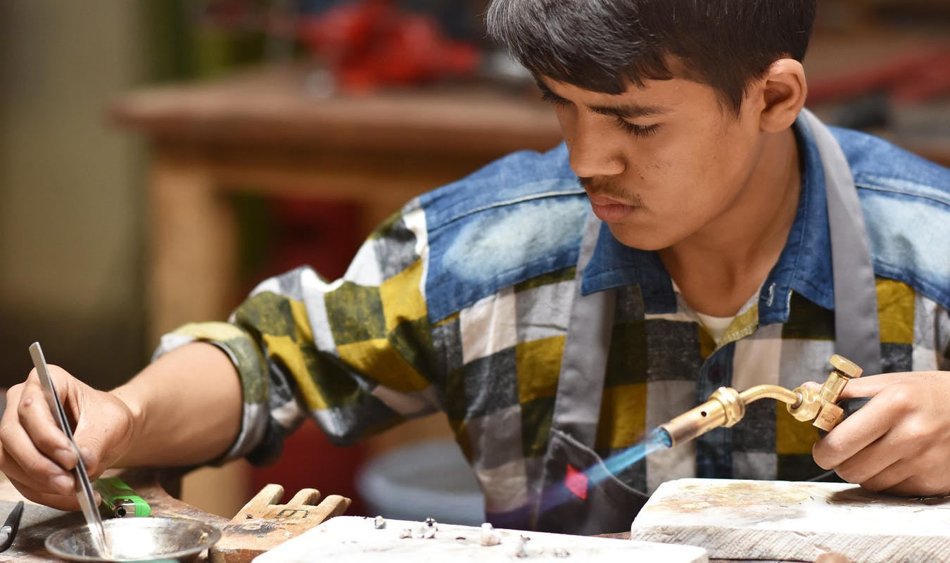 2017 07 18 TMI Jewelery Students 1