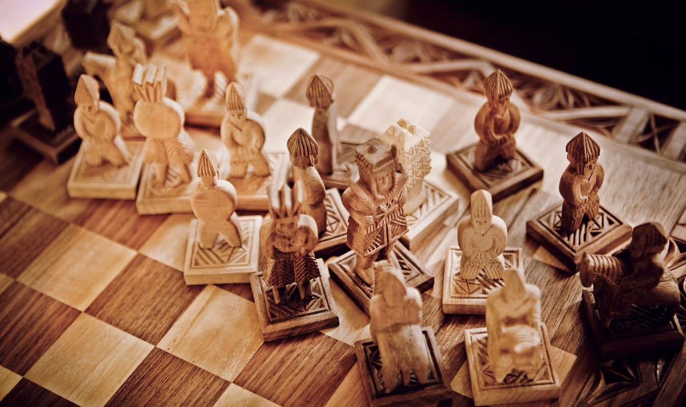 Carved chess pieces slide 3