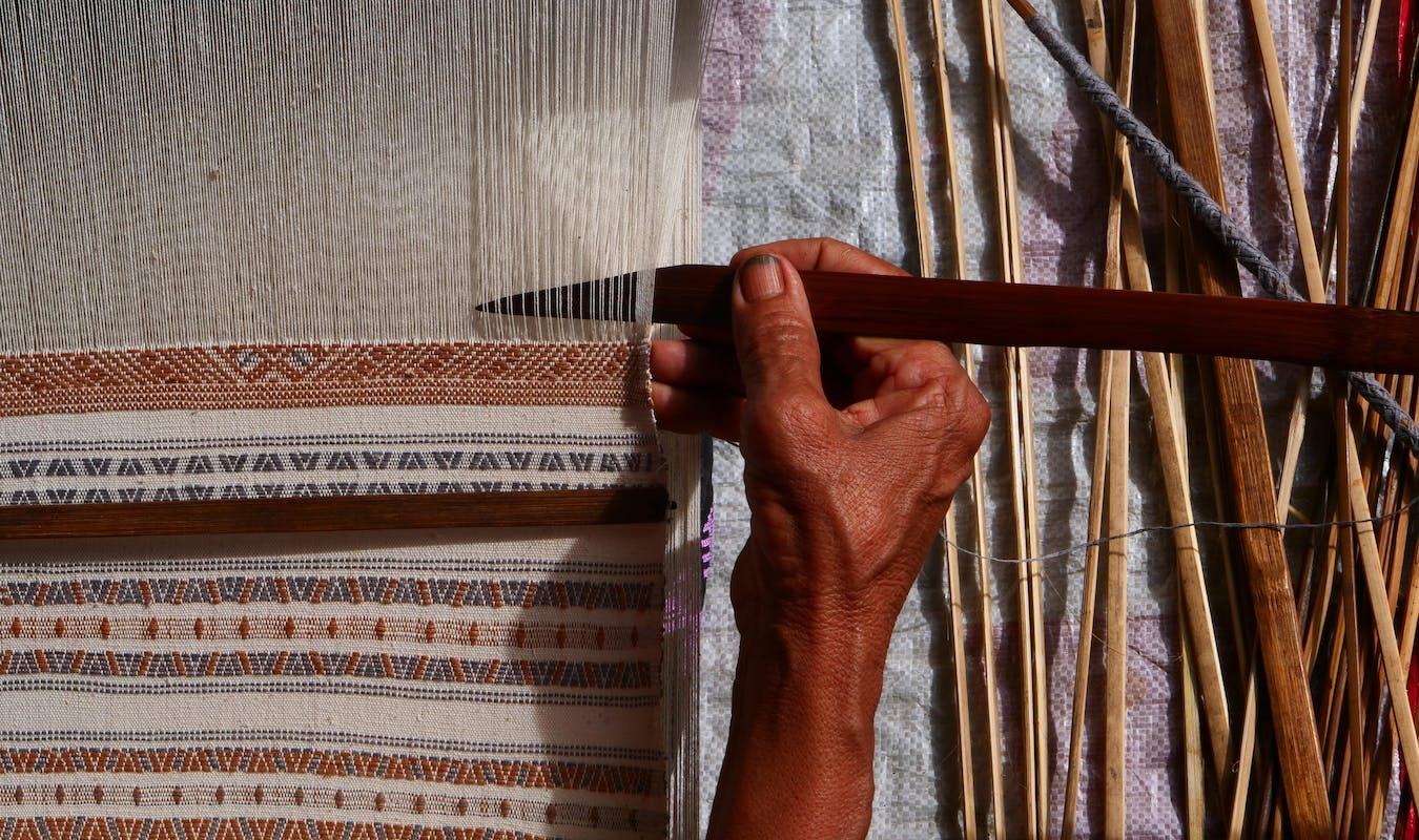 Myanmar weaving 1
