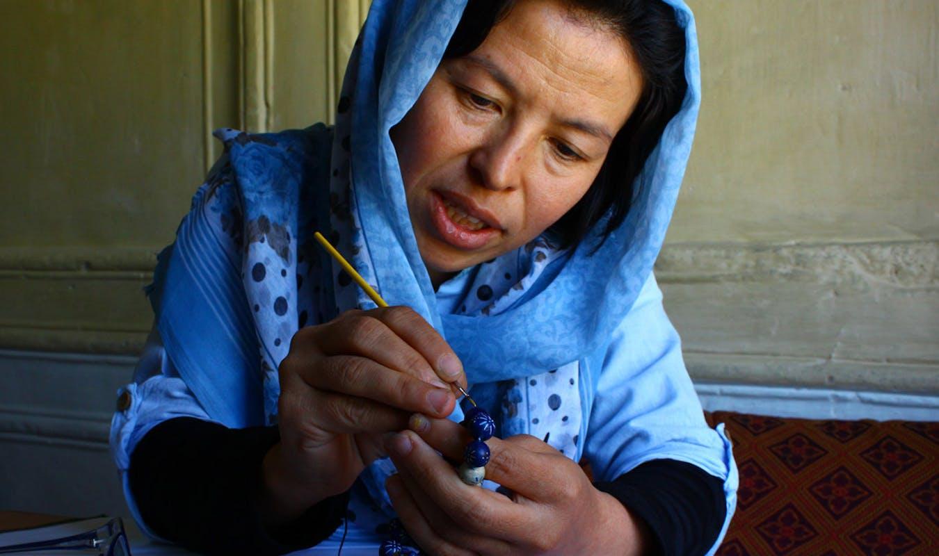 Turquoise Mountain Artisan Soghra Hussaini 2