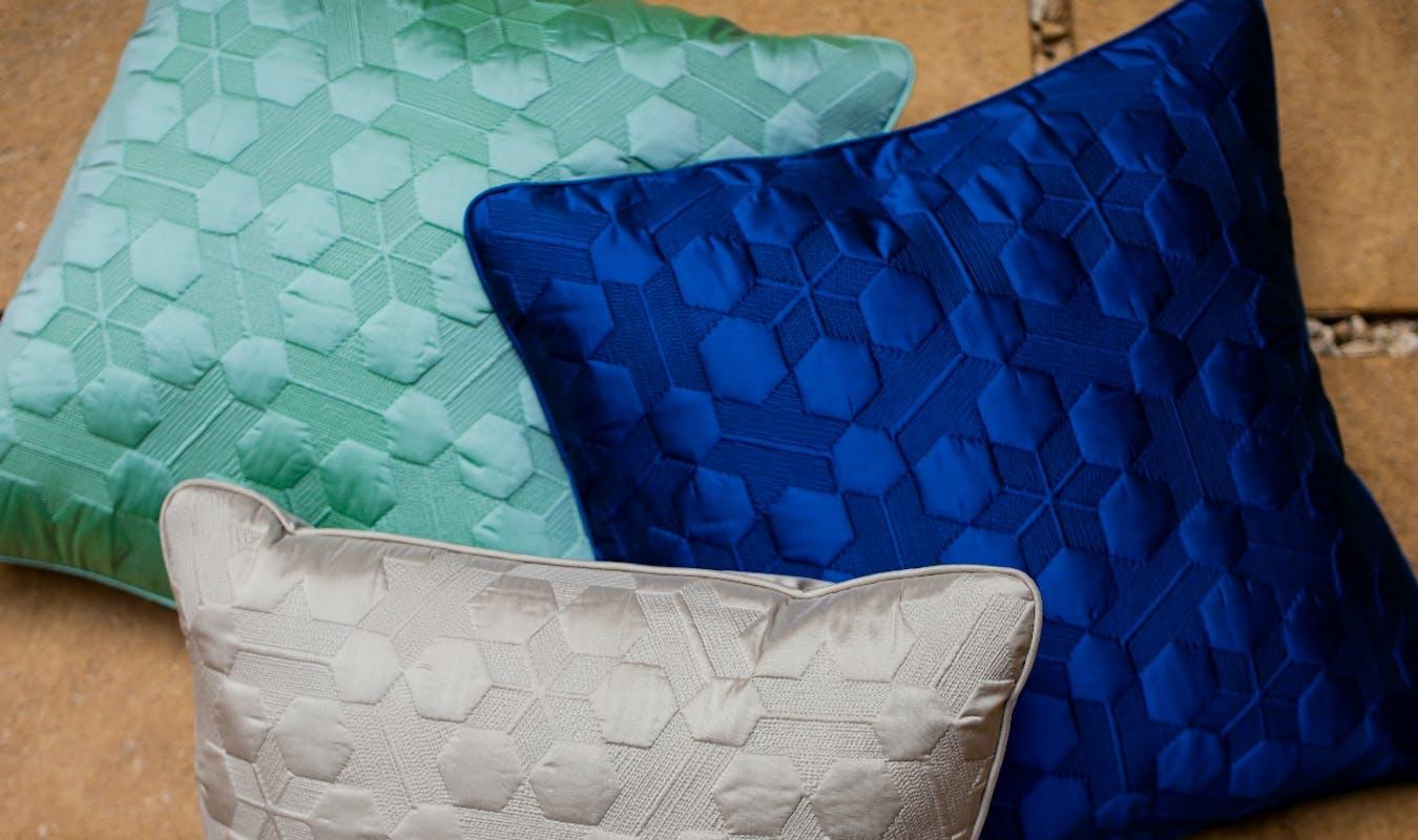 Arabia Product Banner Silk Cushion