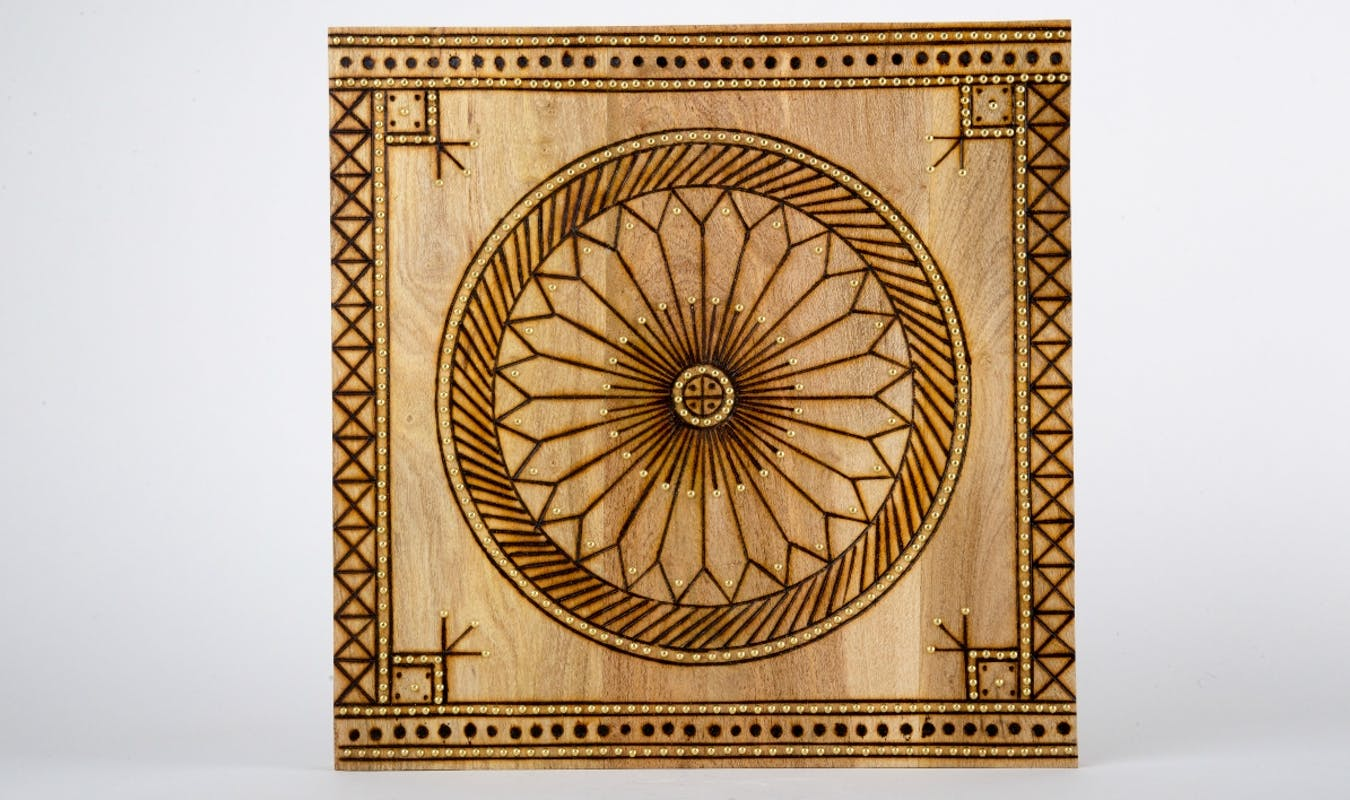 Arabia Product Banner Wooden Panel