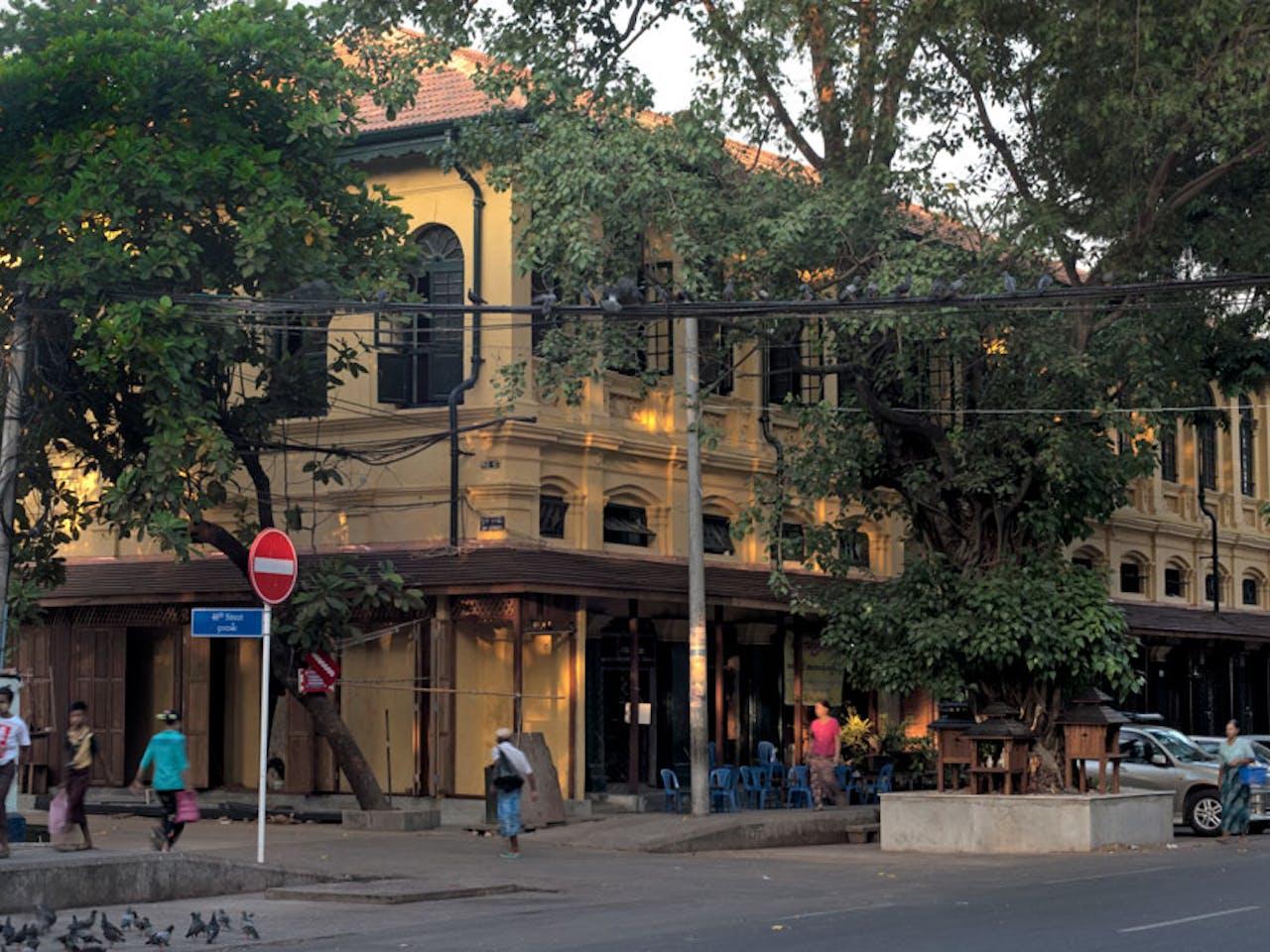 Turquoise Mountain Myanmar Urban Regeneration Featured Projects Merchant Street TJ Webster Yangon 29181